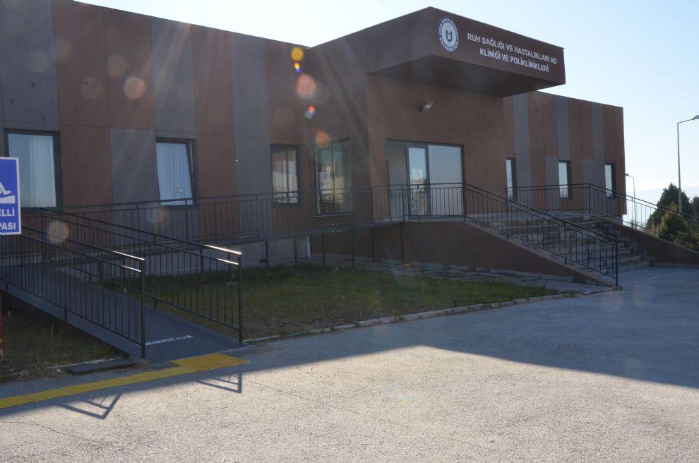 Psikiyatri Anabilim Dalı Yeni Binasında Hizmet Vermeye Devam Ediyor