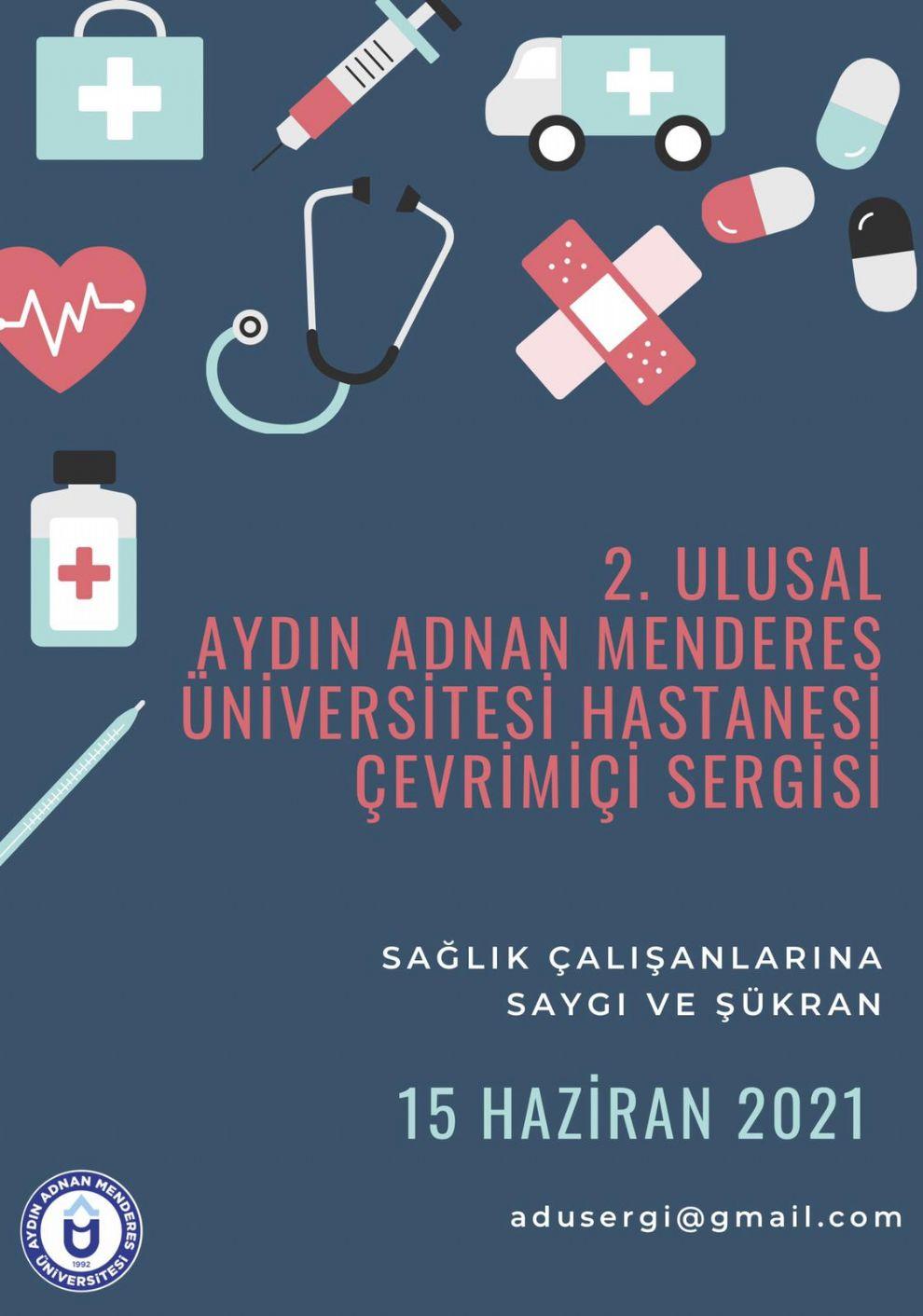 2 Ulusal Aydın  Adnan Menderes Üniversitesi Hastanesi Çevrimiçi Sergisi