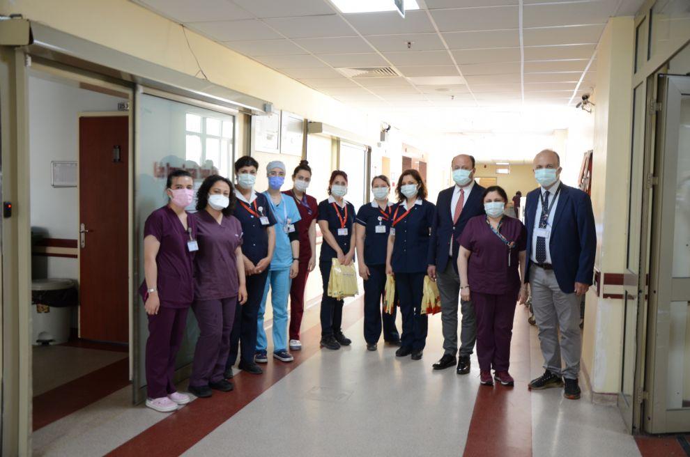 Hastanemizde Hemşireler ve Ebeler Günü Kutladı