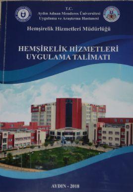 Hemşirelik Hizmetleri Müdürlüğü Tarafından Hazırlanan Kitap Yayımlandı