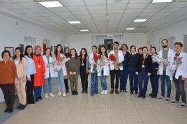 Tıp Fakültesi Öğrencilerinden Kadınlar Günü Kutlaması
