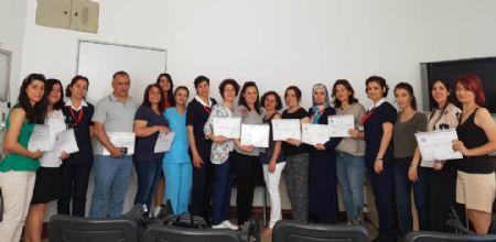 Ameliyathane Hemşireliği Sertifikalı Eğitim Programı Başarıyla Tamamlandı